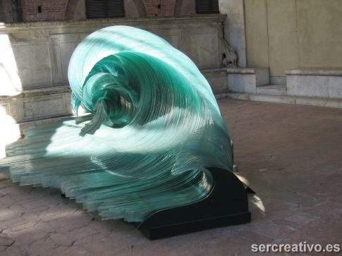 olas de cristal en Siena