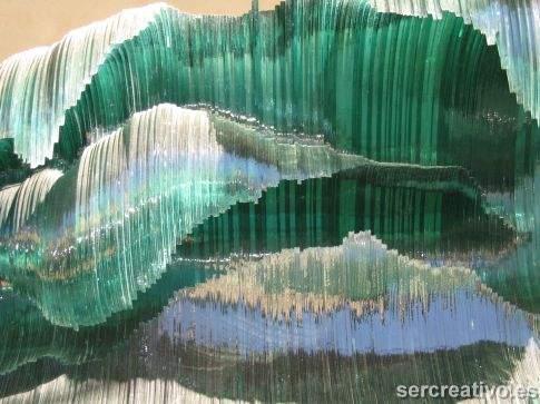 ondate di vetro a Siena